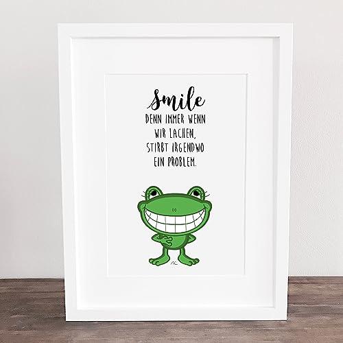 smile sprüche Bild, Poster, Sprüche, Spruch Geschenkidee