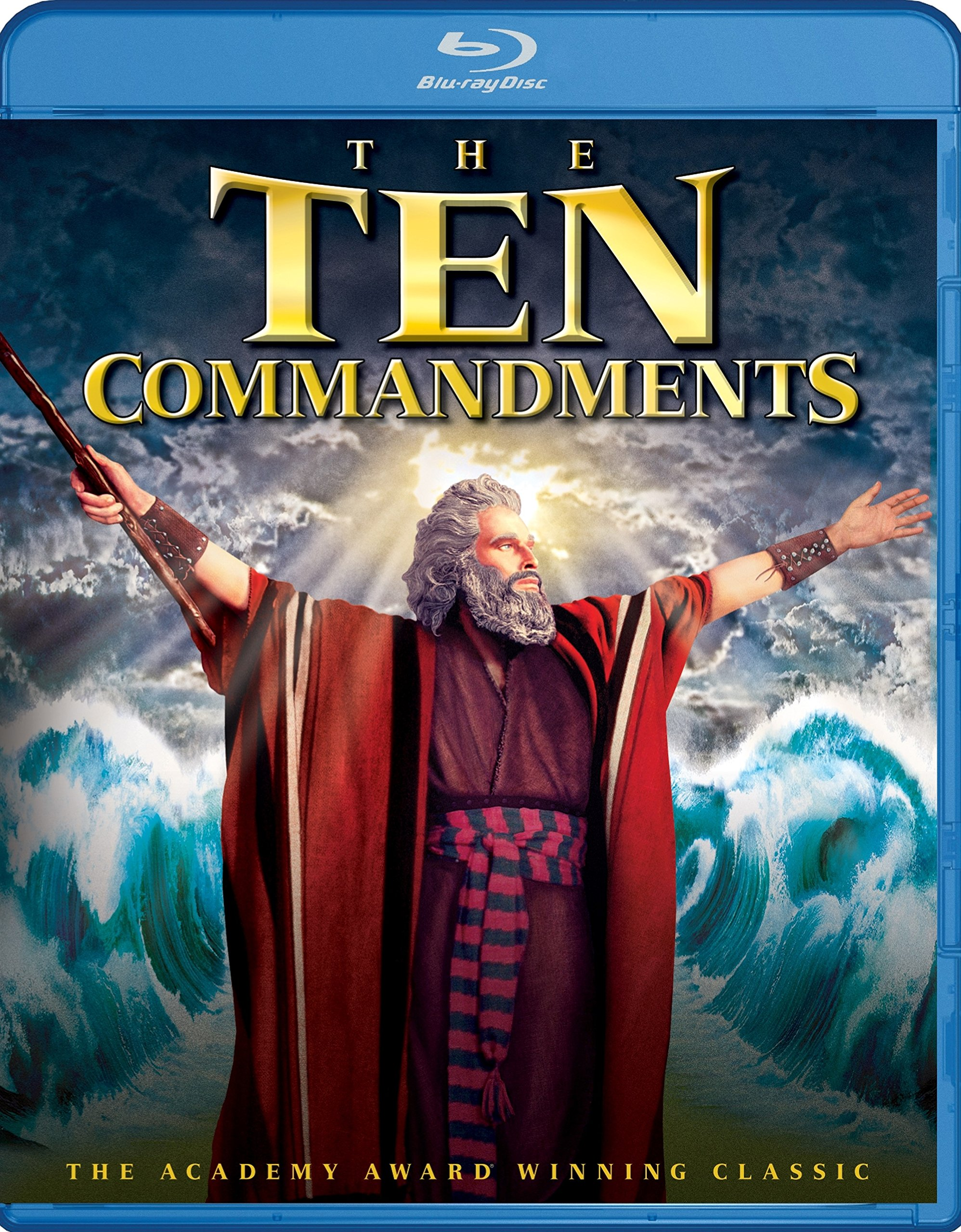Blu-ray : The Ten Commandments (Widescreen, 2 Pack, Dolby, AC-3, Digital Theater System)