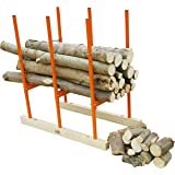SPEED FORCE 2-IN-1 Heavy Duty Sawhorse for Chainsaw Wood Holder Log Stand and Logging Saw Horse for Log Jack or Log…