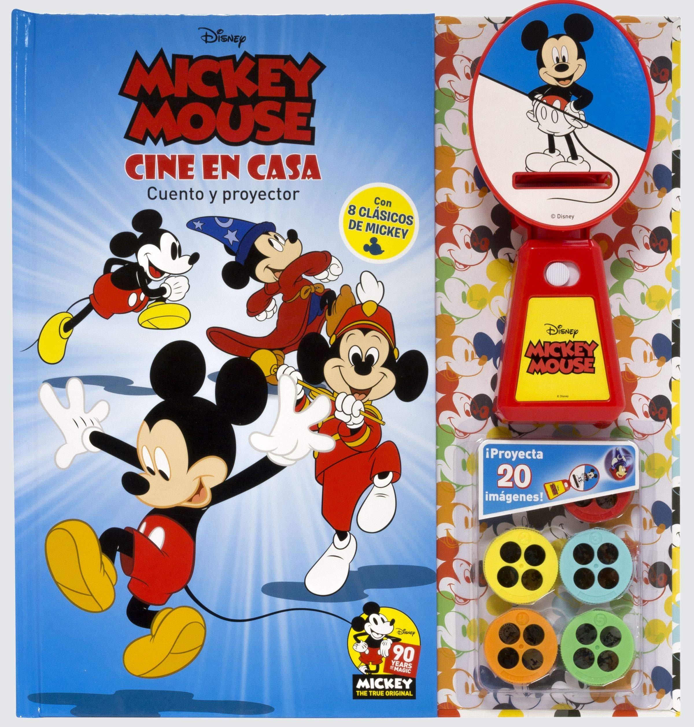 Mickey. Cine en casa: Disney: 9788416917402: Amazon.com: Books