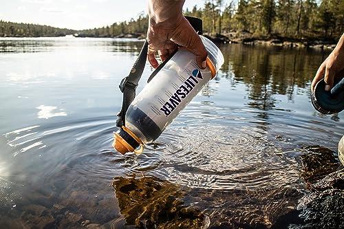 LIFESAVER Water Filtration Filter Bottle Purifier ki
