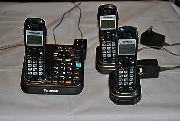 amazon com panasonic kx tg9341t digital cordless phone with rh amazon com Panasonic 6.0 Cordless Phone Manual Panasonic 6.0 Cordless Phone Manual