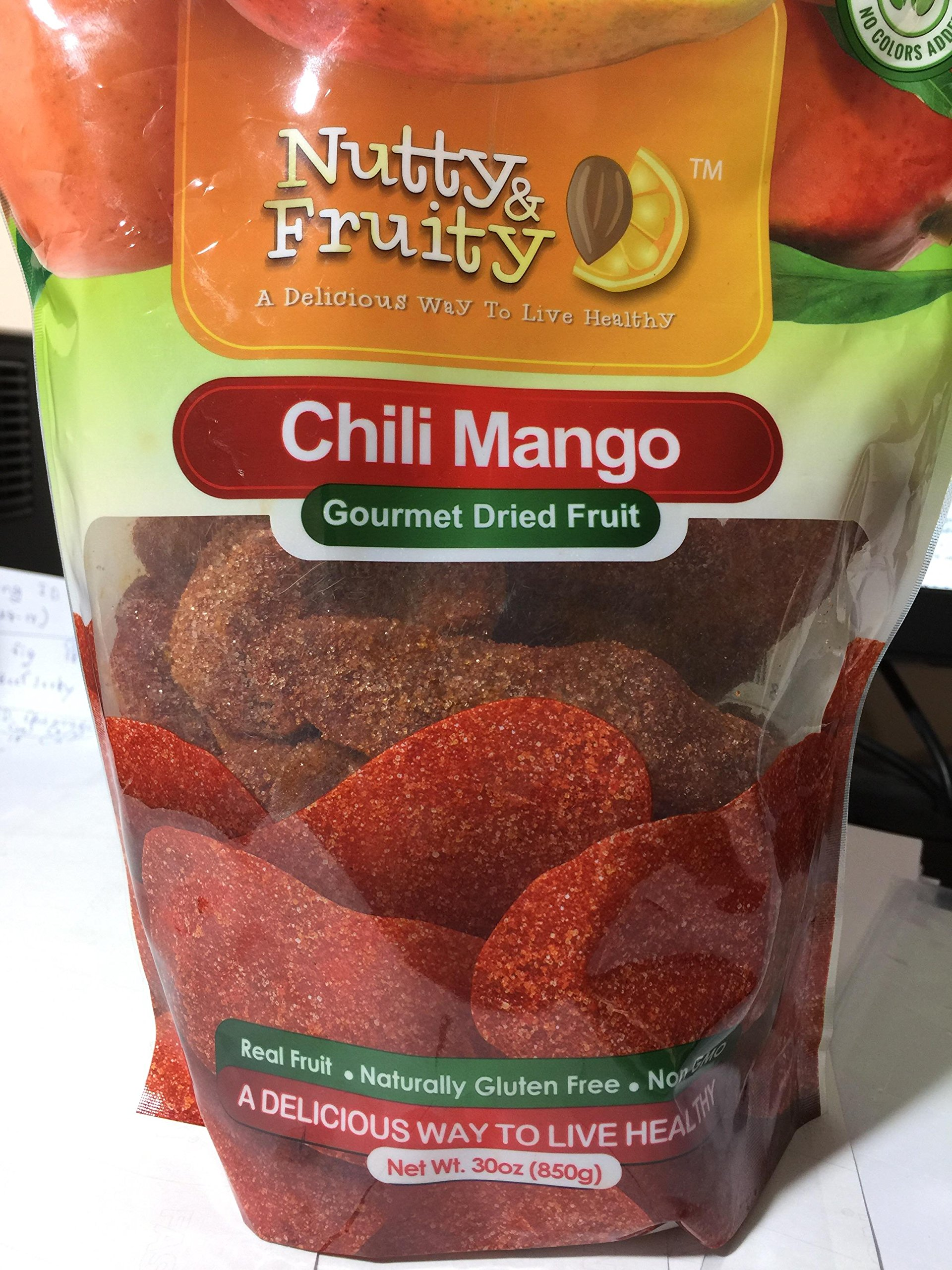 Nutty & fruity chili mango gourmet dried fruit 30 oz. (850g)
