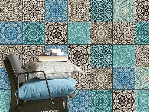 Fliesensticker Dekoraufkleber Mosaikfliesen | Fliesen-Aufkleber ...