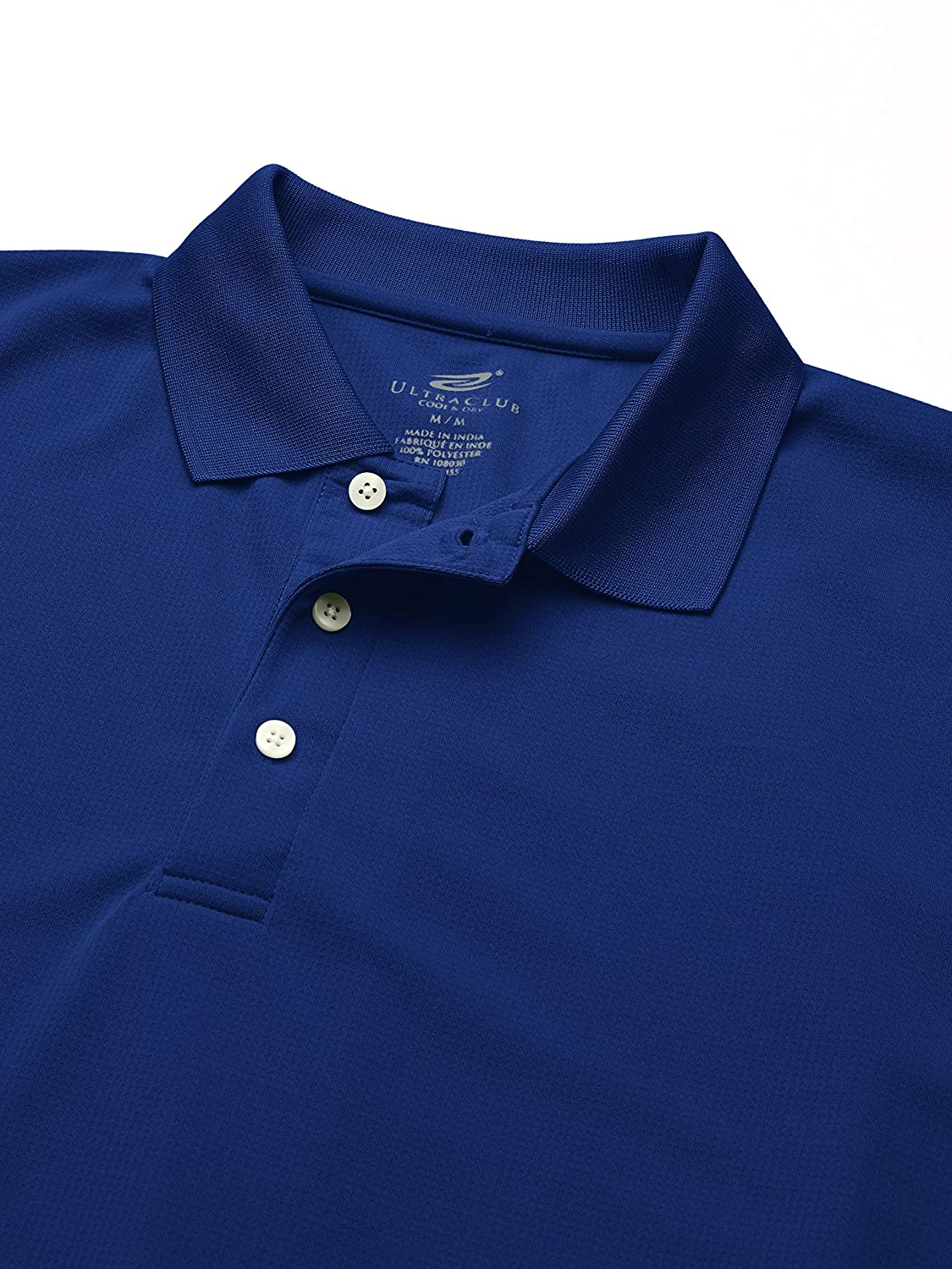 Clementine Mens Ultc-8445-cool /& Dry Stain-Release Performance Polo
