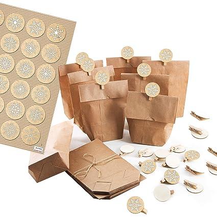 Logbuch-Verlag - Bolsas de papel pequeñas, paquete de ...