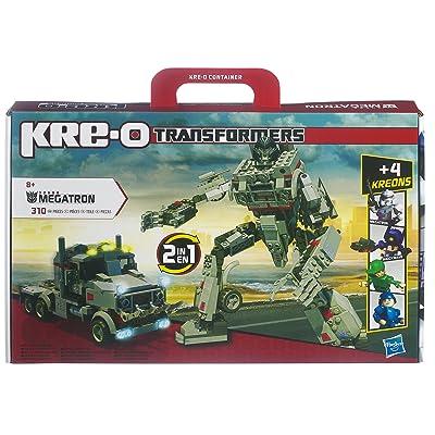 Hasbro 30688148 KRE-O Transformers - Juego de construcción de Megatron: Juguetes y juegos