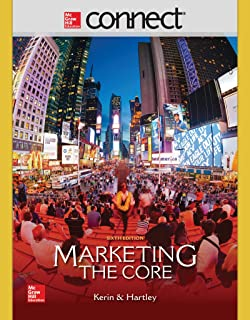 Amazon loose leaf marketing the core 7e 9781260152135 roger connect access card for marketing fandeluxe Choice Image