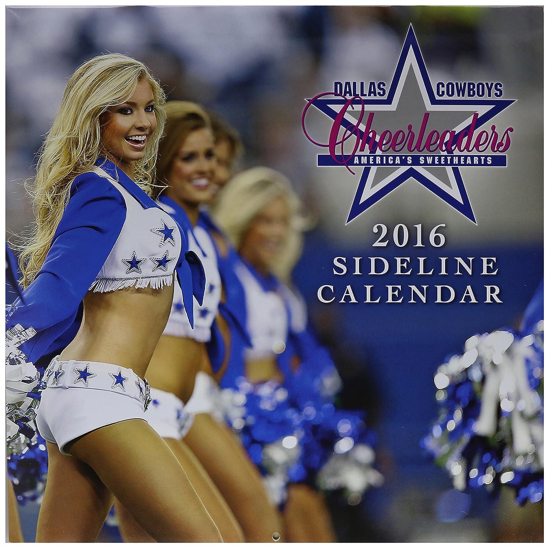 Turner 8011961 Dallas Cowboy Cheerleaders 2016 Wall Calendar, September 2015 - December 2016, 12 X 12-Inch