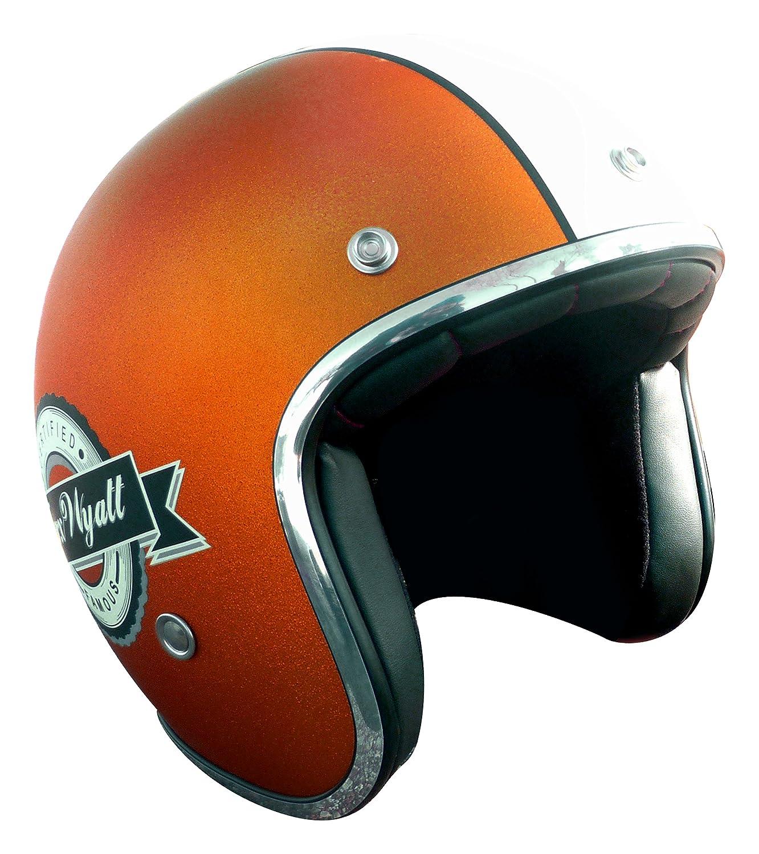 TORX Casque Moto WYATT FAMOUS MATT GLITTER CHARCOAL, Taille XL MAD 939FMC61