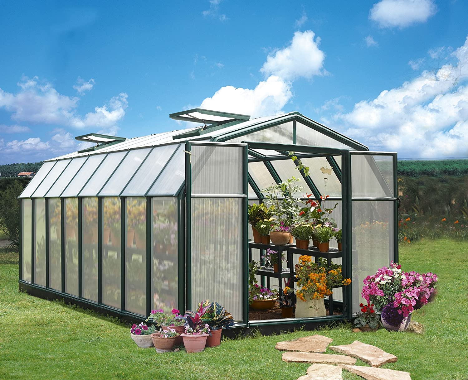 Amazon.com: RION Hobby 8 ft. 6 in. x 16 ft. 8 in. Paquete ...