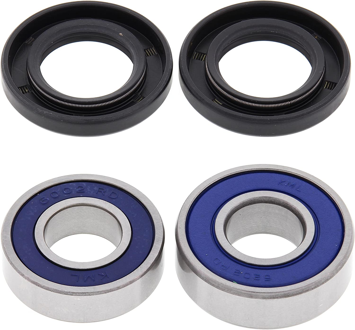 All Balls Motorcycle Rear Wheel Bearing Kit 25-1111 Wheel Bearing//Seal Kit