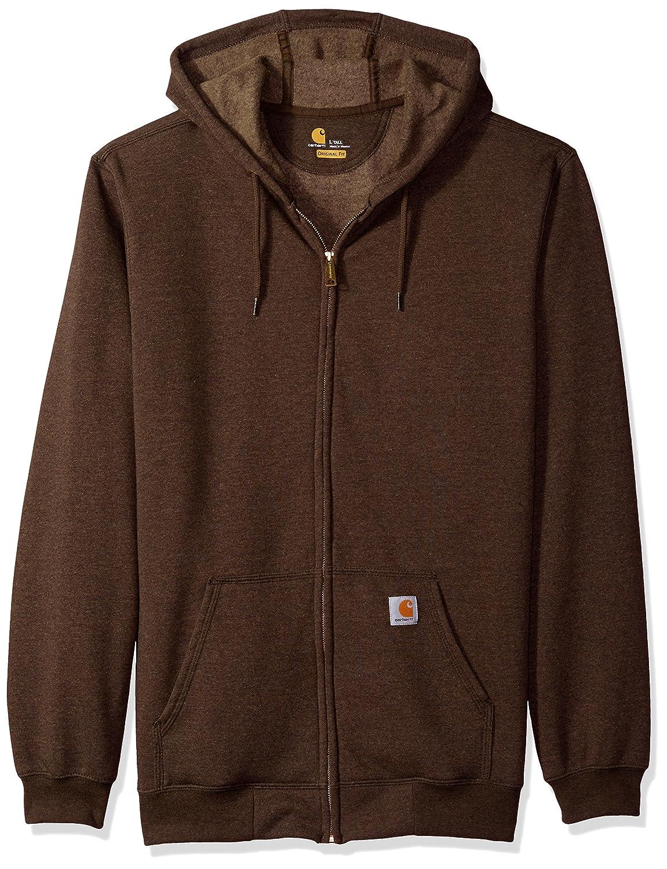 Carhartt Men's Midweight Hooded Zip-Front Sweatshirt Carhartt Sportswear - Mens K122-202