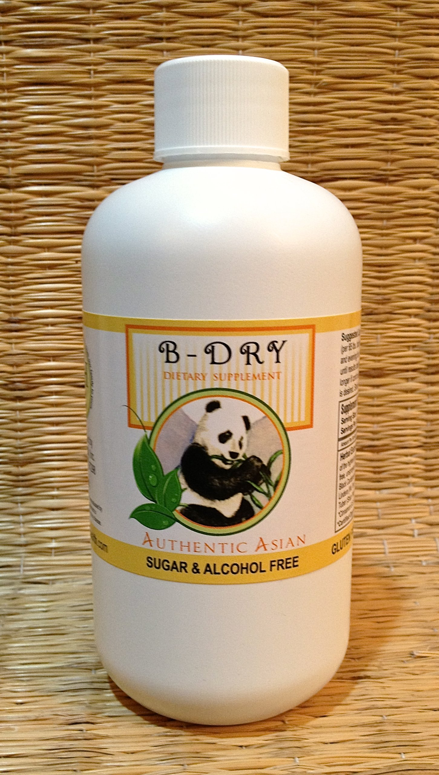 B-Dry (8 oz Bottle) - Bedwetting & Urinary Incontinence Support, Child safe. Liquid extract, Alcohol & Sugar Free. Dr. Kang's formula. Used Safely and Effectively for over 20 years. by TriLight Health