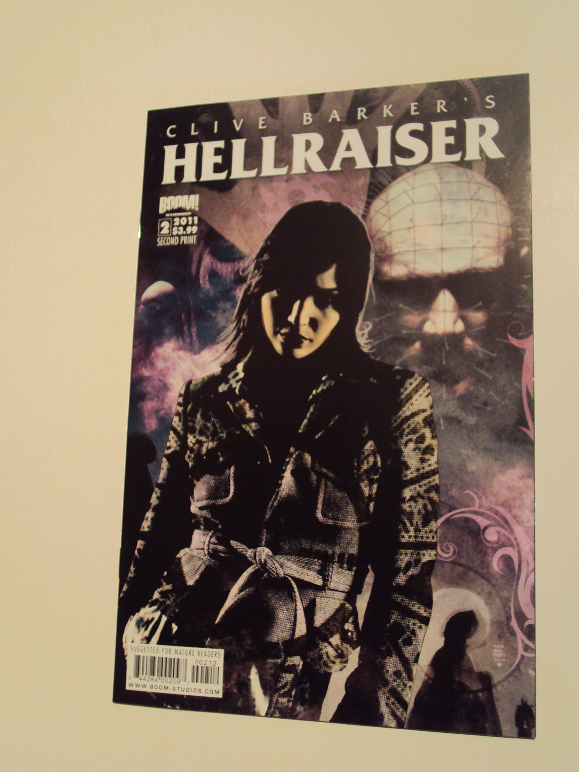 Read Online Hellraiser Issue 2 2nd Printing Comic Book pdf