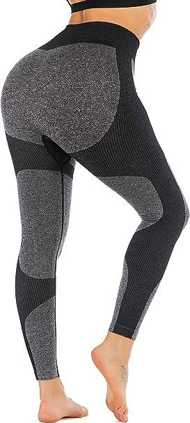 Amazon.com: RUNNING GIRL leggings de yoga sin costuras, de ...