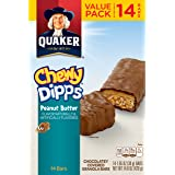 Quaker Chewy Dipps Peanut Butter Granola Bars, 14 Bars