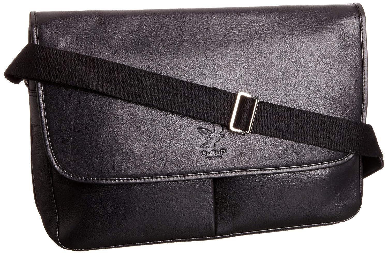 O.S.P Mens Bakersfield Messenger Shoulder Bag OS1103-44 Black