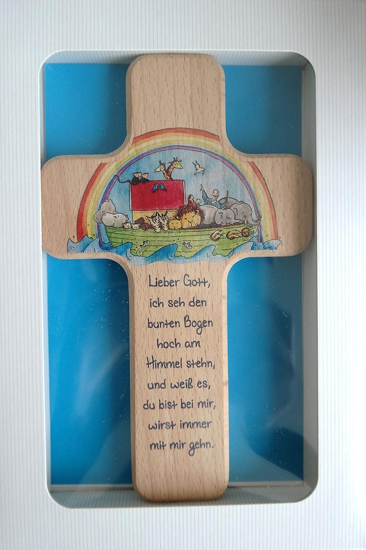 Croce per bambini Arca di Noè Butzon & Bercker 330285