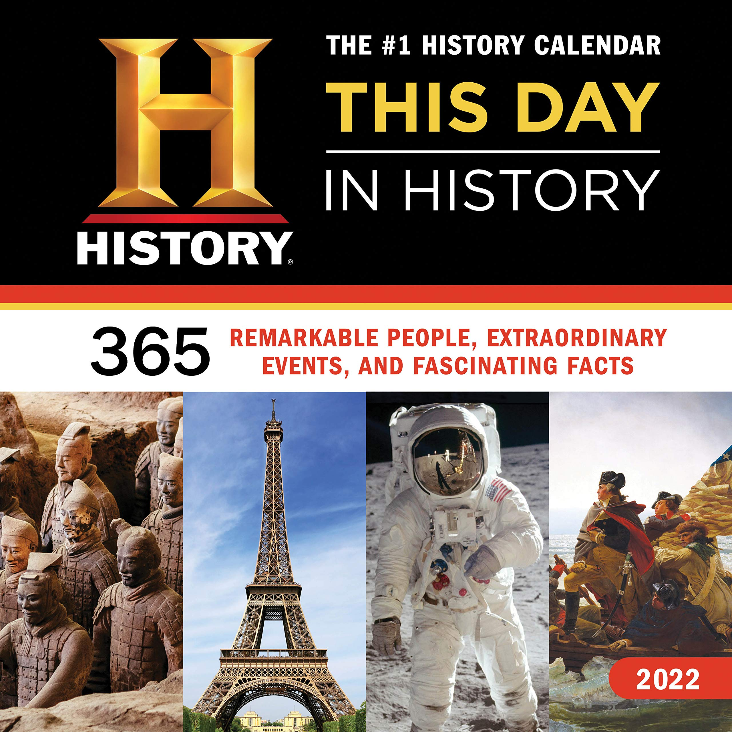 2022 Events Calendar.Buy 2022 History Channel This Day In History Wall Calendar 365 Remarkable People Extraordinary Events And Fascinating Facts Book Online At Low Prices In India 2022 History Channel This Day In