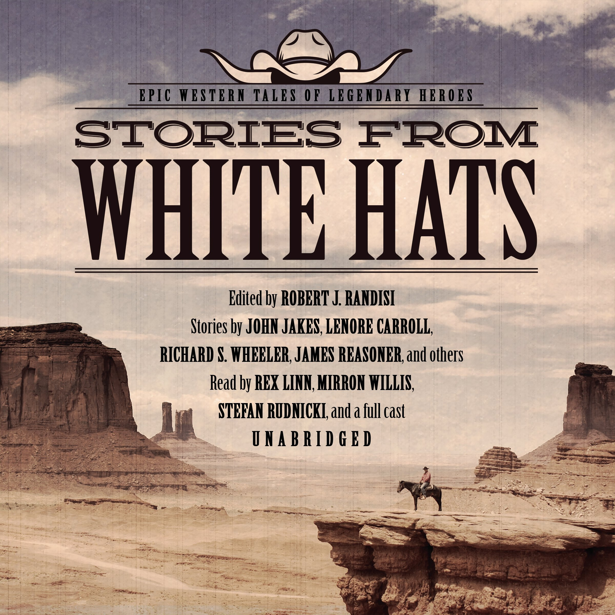 Stories from White Hats  Epic Western Tales of Legendary Heroes MP3 CD –  Audiobook c27a177804dd