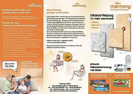 Marmony C480 Calefacción por infrarrojos Carrara Incluye termostato 500 W B-Ware: Amazon.es: Bricolaje y herramientas