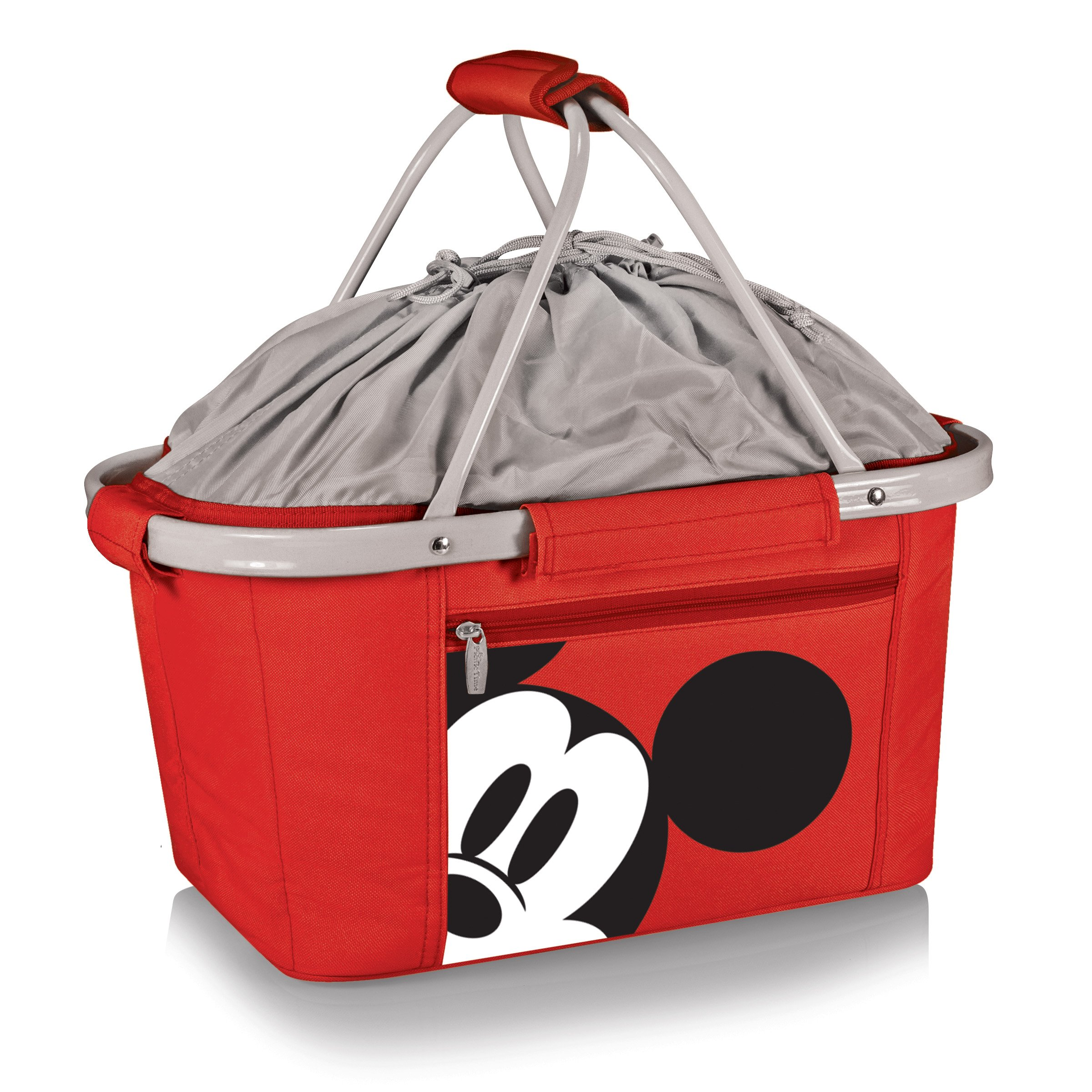 Disney Classics Mickey Mouse Metro Basket Collapsible Cooler, Red by PICNIC TIME
