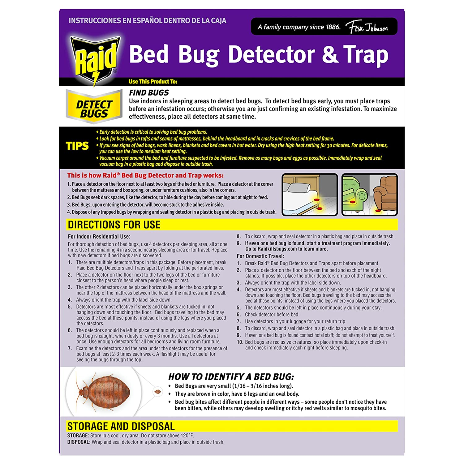 bug beapco traps pack home detector detection bed the trap depot insect p