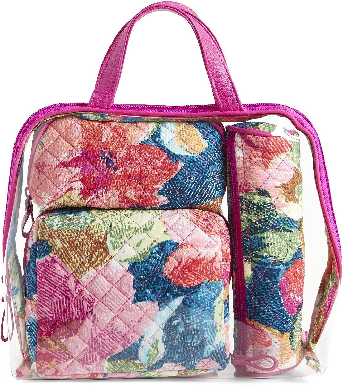 Vera Bradley Women's 4 Pc. Set Cosmetic Makeup Bag