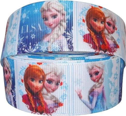 Cinta de grogu/én decorativa dise/ño de Frozen Pimp My Shoes 2 m x 22 mm