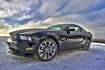 Wandtattoos & Wandbilder Wandbild 200x115cm selbstklebend Ford Mustang Autos Foto Kunst Wandbilder Poster XXL ws30 Bilder, Poster, Kunstdrucke & Skulpturen