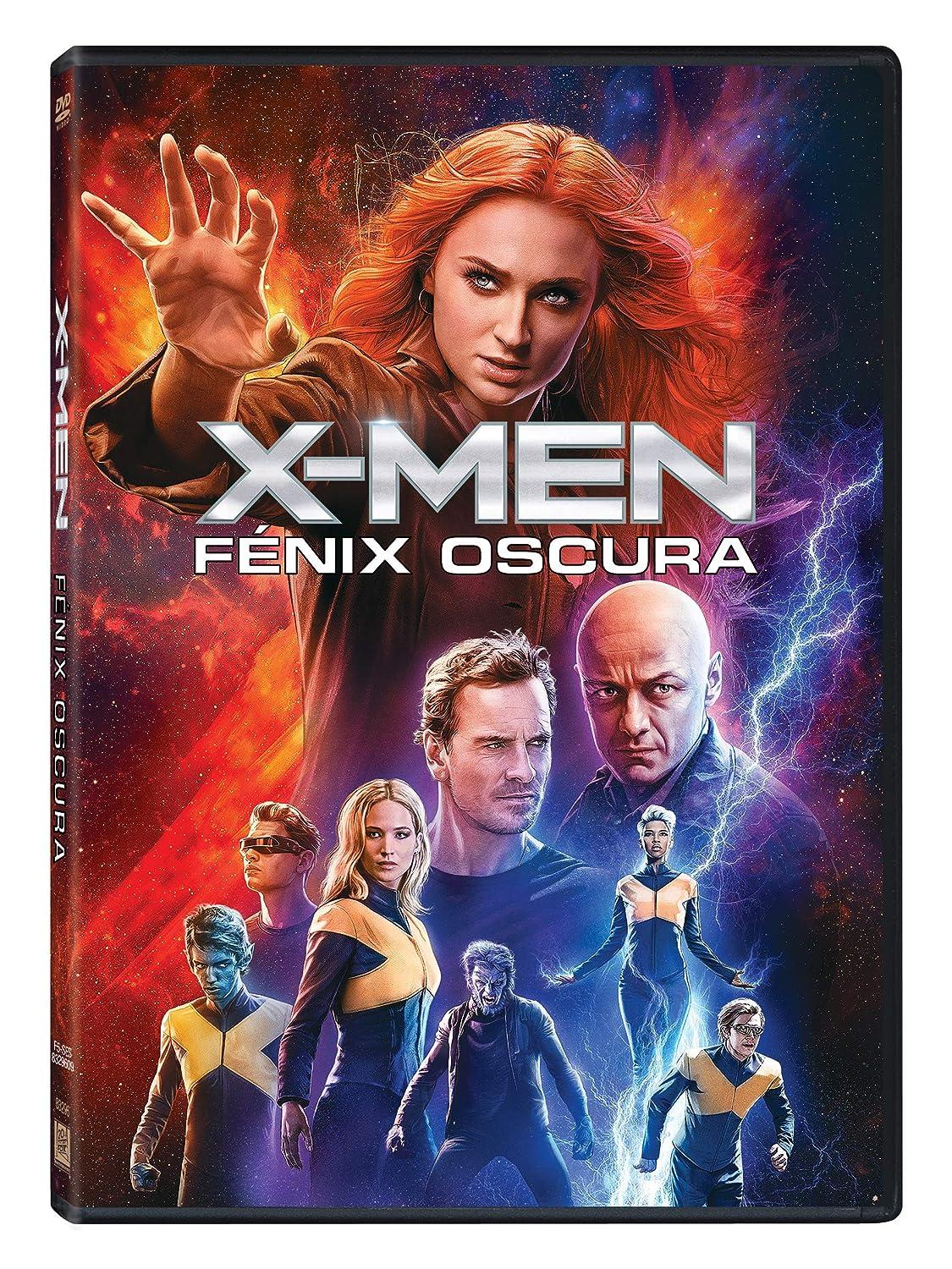 X-Men: Fénix Oscura [DVD]: Amazon.es: James Mcavoy, Jennifer Lawrence,  Michael Fassbender, Sophie Turner, Simon Kinberg, James Mcavoy, Jennifer  Lawrence: Cine y Series TV