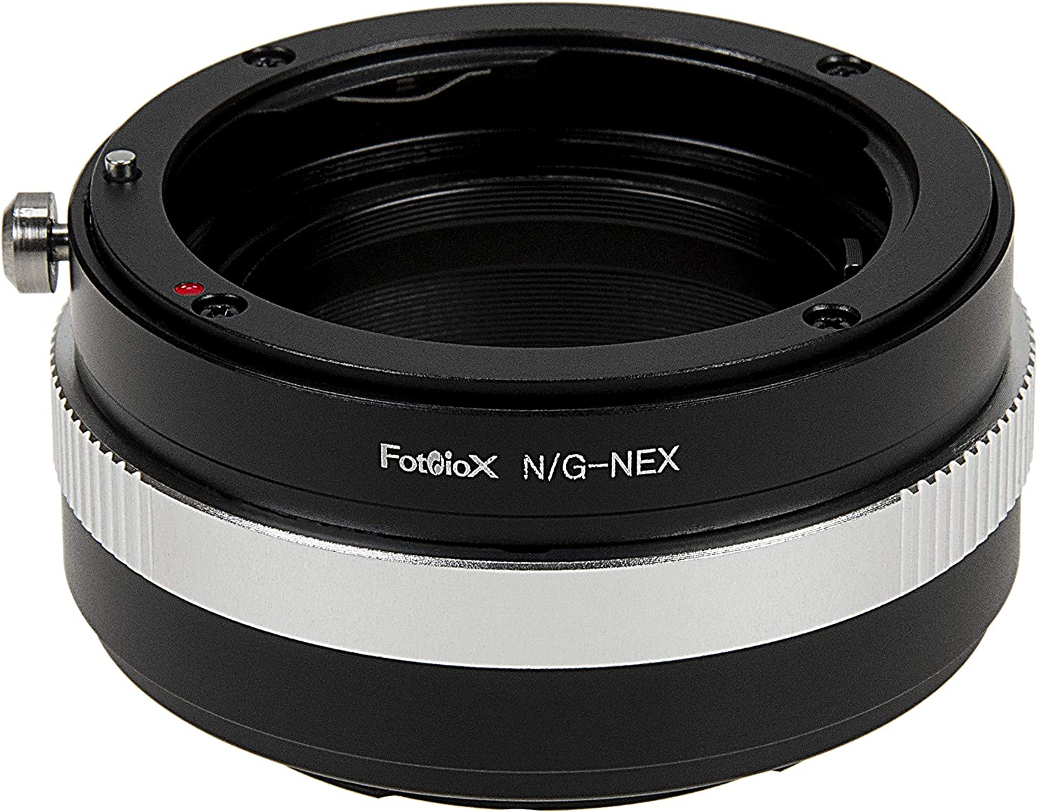 Fotodiox Lens Mount Adapter - Nikon Nikkor F Mount G-Type D/SLR Lens to Sony Alpha E-Mount Mirrorless Camera Body