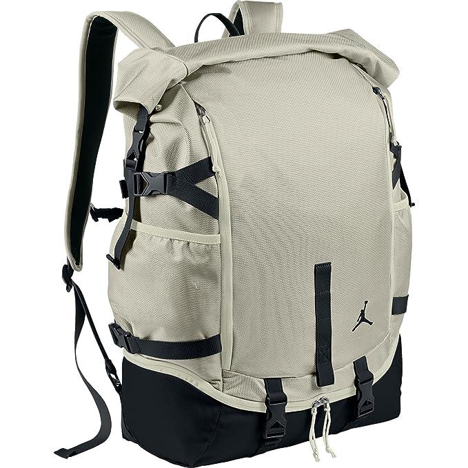 5f0f2a78df7d Jordan Jumpman Top Loader Backpack Grey Black 658401-072 (Size os ...