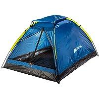 martes TENTINO II campingtält – 2 personer kupoltält med ventilation, lätt, vattentät – enkel inredning för vandring…