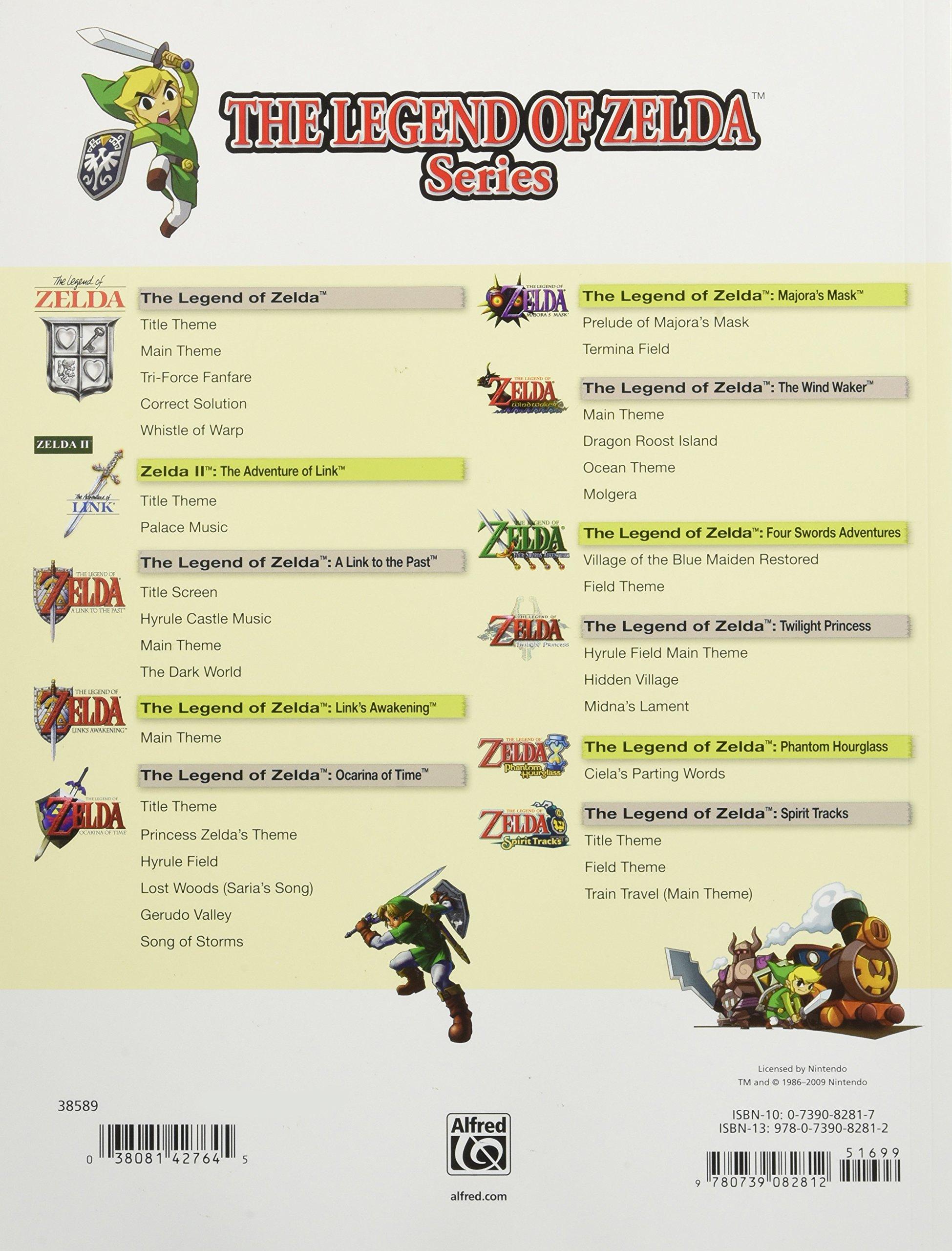 The Legend of Zelda Series for Guitar: Guitar Tab: Amazon.es ...