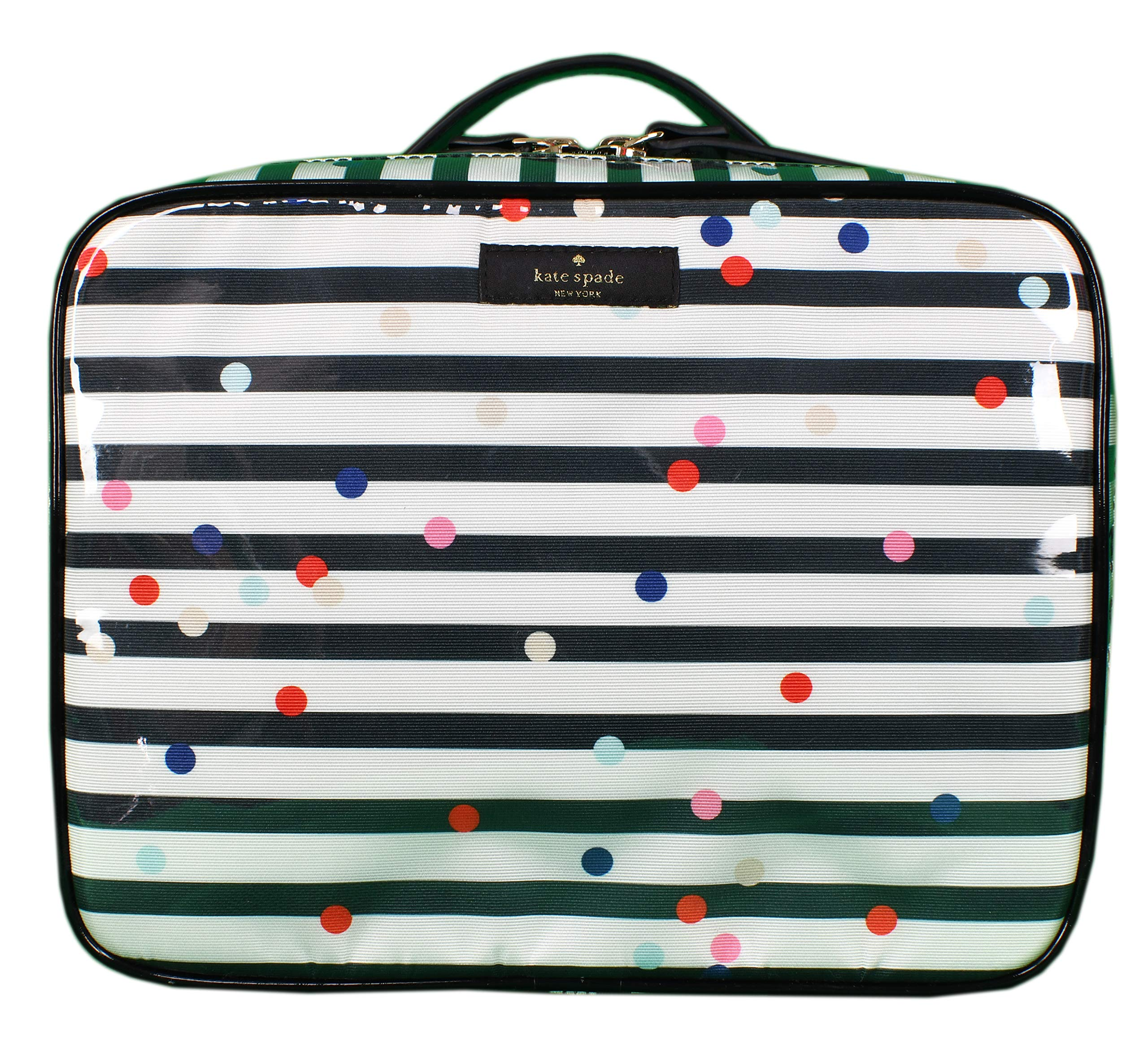 Kate Spade New York Brook Place Confetti Dot Multi Womens Cosmeic Organizer (Multi)