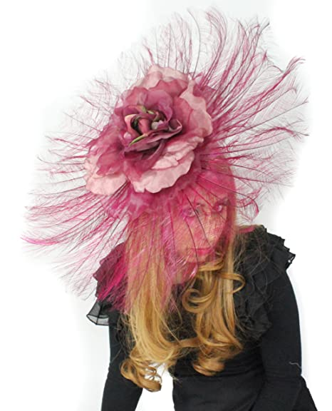 Hats By Cressida Beautiful Ascot Derby Large Ostrich Feathers