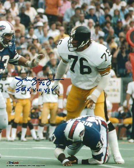 3679315f5 Autographed John Banaszak Pittsburgh Steelers 8x10 Photo w Show ...