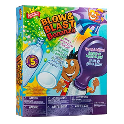 Scientific Explorer Blow & Blast Bonanza: Toys & Games