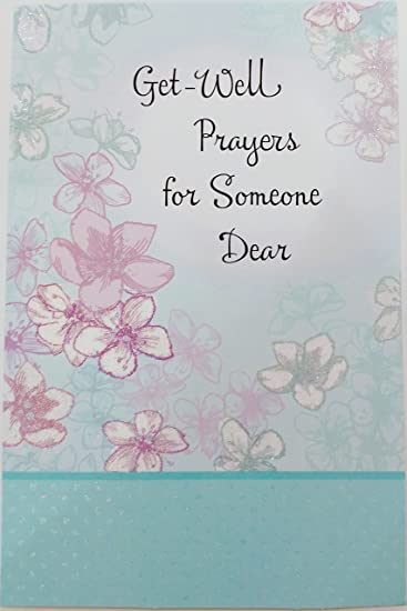 Amazon.com: Get Well Oraciones para alguien Dear – Religiosa ...