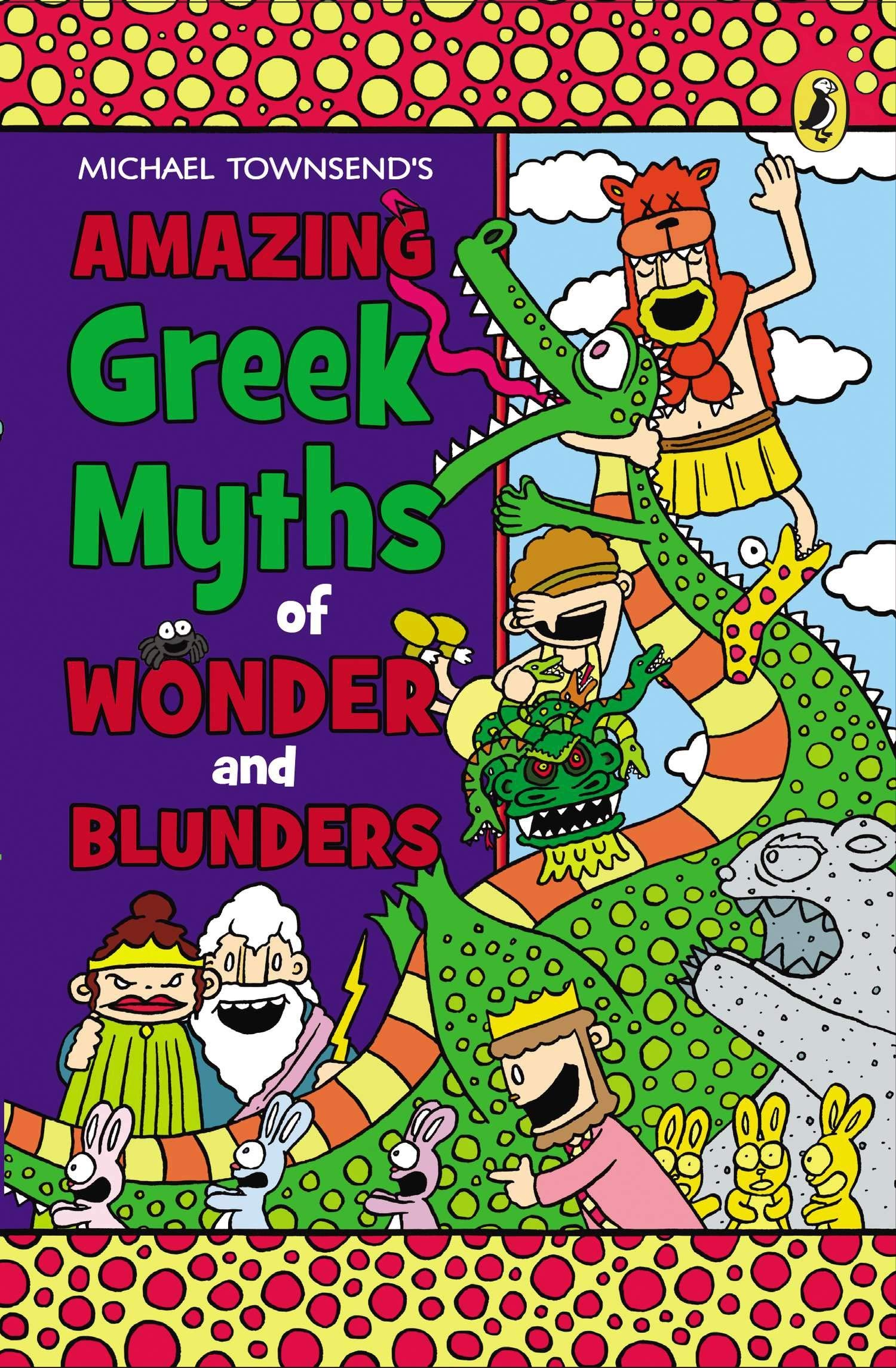 Amazing Greek Myths of Wonder and Blunders: Michael Townsend, Michael  Townsend: 9780147510693: Amazon.com: Books