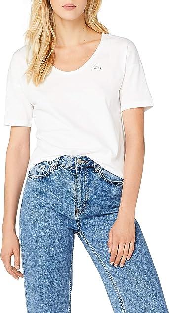 Lacoste Camiseta para Mujer: Amazon.es: Ropa y accesorios
