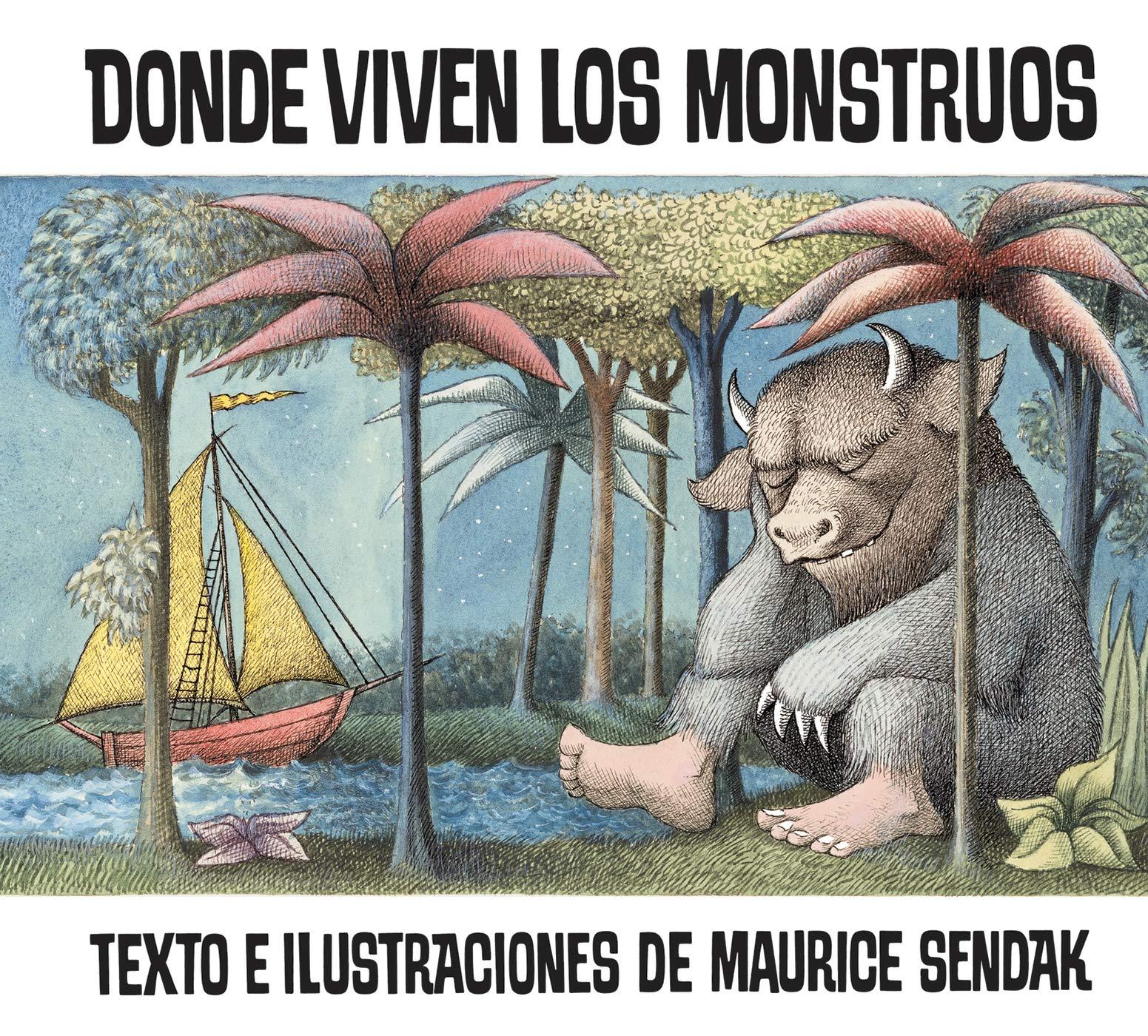 Donde viven los monstruos: Sendak, Maurice, Sendak, Maurice: 9780064434225:  Amazon.com: Books