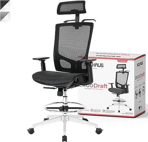 NOUHAUS ErgoDraft Drafting Chair