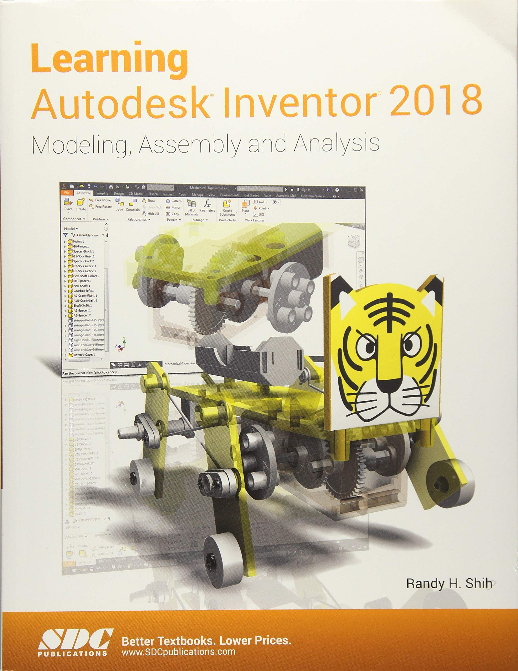 Learning Autodesk Inventor 2018: Randy H  Shih