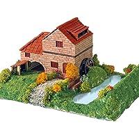 Keranova- Kit de cerámica Casa Rural con Molino