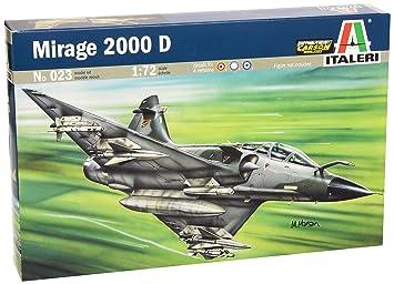 Italeri Mirage 2000 D/N 1:72 Kit de Montaje Aeronave de ala ...
