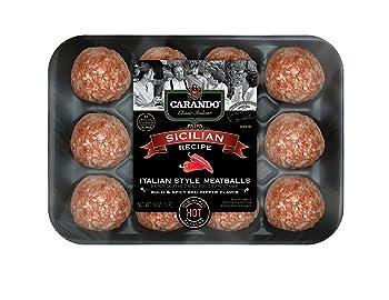 Carando Fresh Italian Style Sicilian Uncooked Meatballs