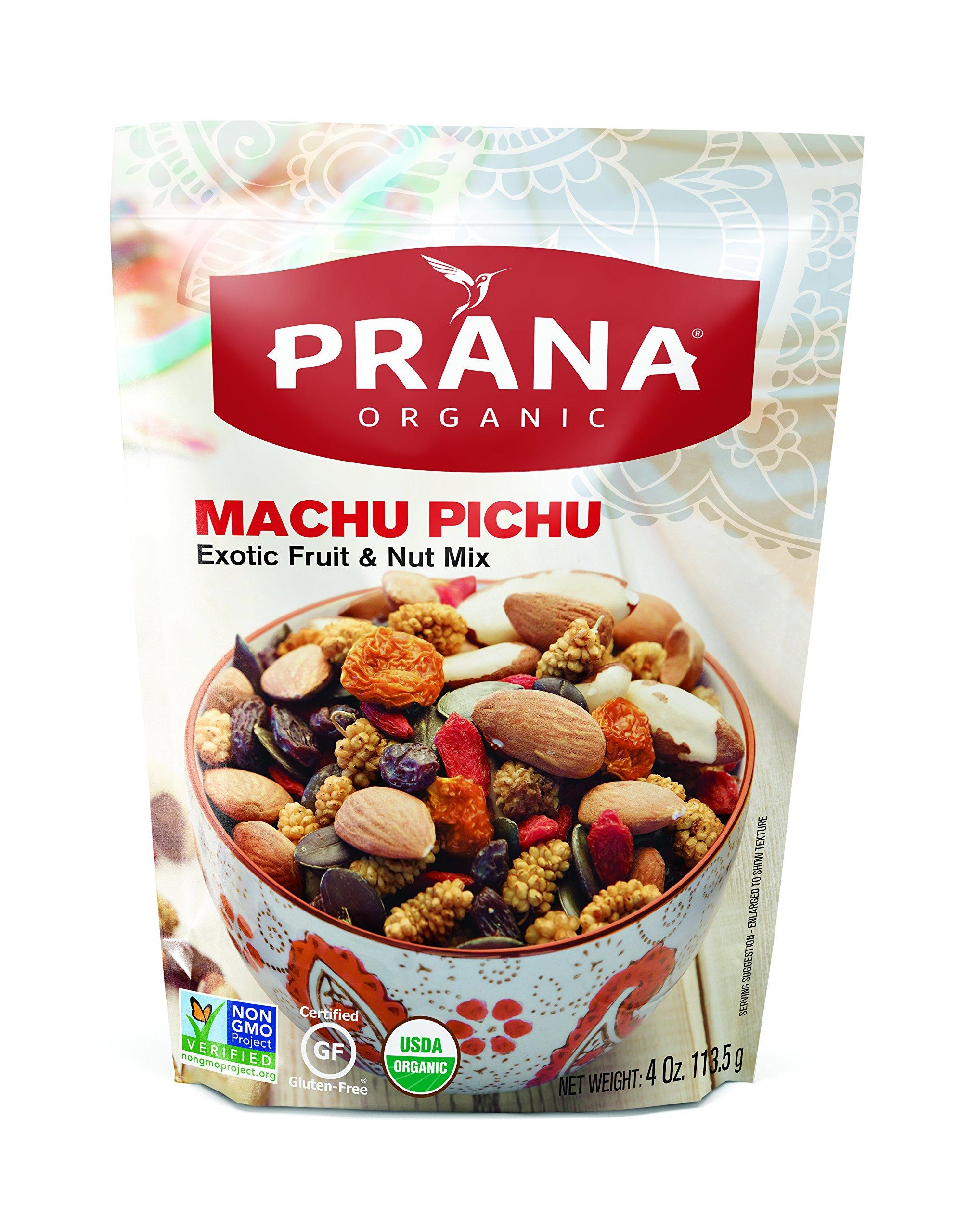 PRANA MACHU PICHU - Organic Nuts & Fruit Mix, 8 x 4oz